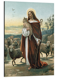 Tableau en aluminium  The good shepherd - John Lawson