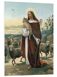 Tableau en PVC  The good shepherd - John Lawson