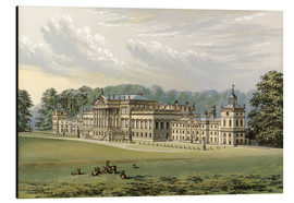 Tableau en aluminium  Wentworth Woodhouse - Alexander Francis Lydon