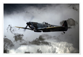 Poster Spitfire TE311