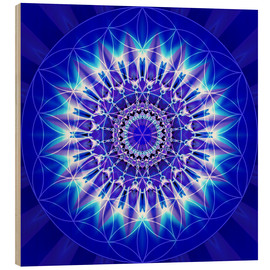 Bois  Spirituality with Mandala Flower of Life - Christine Bässler