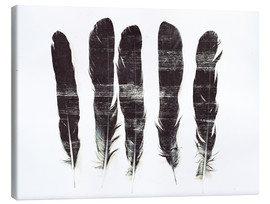 Toile  Plumes d'Icare - Sybille Sterk