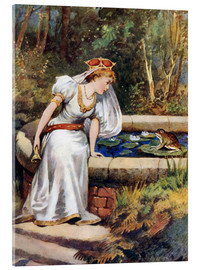 Tableau en verre acrylique  The Frog Prince - William Henry Margetson