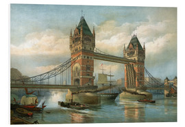Tableau en PVC  Tower Bridge, London - English School