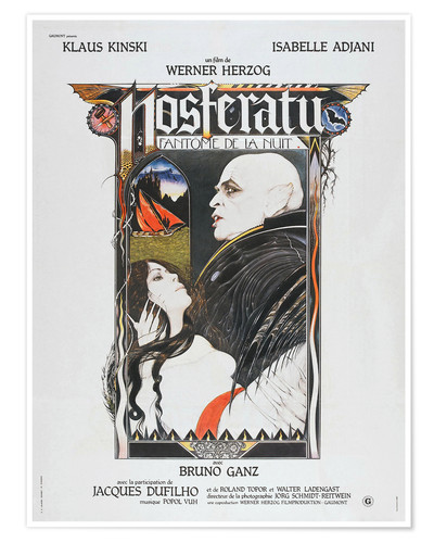 Poster Nosferatu The Vampyre, French Poster