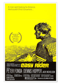Poster  Easy Rider, 1969 (anglais)