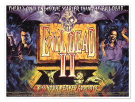 Poster  Evil Dead II (anglais)