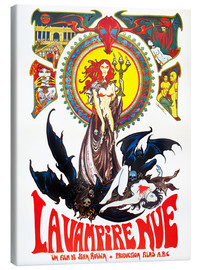 Tableau sur toile  THE NUDE VAMPIRE