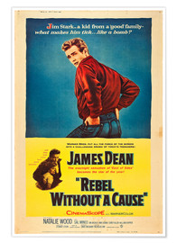 Poster  Rebel without a cause