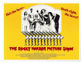 Poster  The Rocky Horror Picture Show (anglais)