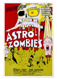 Poster  Astro Zombies, 1968 (anglais)