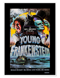 Poster  Frankenstein Junior, 1974 (anglais)