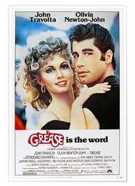 Poster  Grease (anglais)