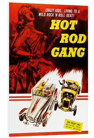 Tableau en PVC  Hot Rod Gang (anglais)