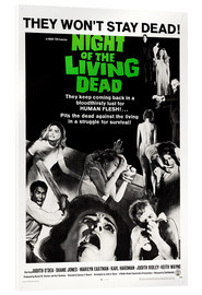 Verre acrylique  Night of the Living Dead