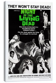 Toile  Night of the Living Dead