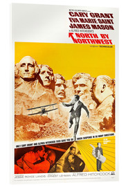 Verre acrylique  North by Northwest
