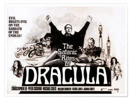 Poster  The Satanic Rites of Dracula