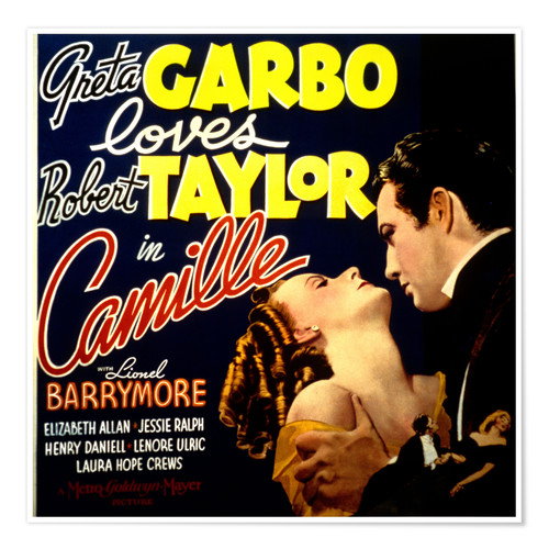 Poster Camille, 1936 (anglais)
