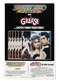 Poster  Saturday Night Fever / Grease