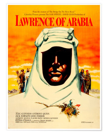Poster Lawrence d'Arabie (anglais)