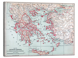 Toile  Map: Ancient Greece