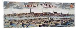 Verre acrylique  Bremen, Germany, 1719