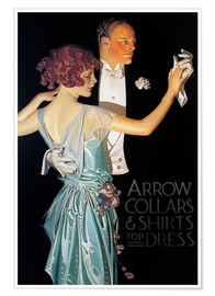 Poster  Arrow Collars - Joseph Christian Leyendecker
