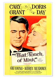 Poster  THAT TOUCH OF MINK, 1962