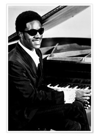 Stevie Wonder au piano