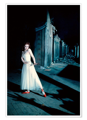 Poster Les Chaussons rouges, Moira Shearer