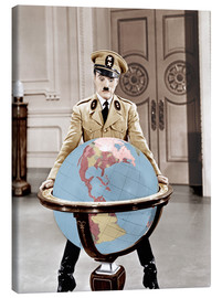 Tableau sur toile  The Great Dictator - Charlie Chaplin
