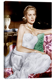 Toile  La Main au collet, Grace Kelly, 1955