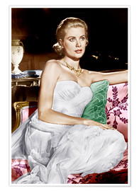 Poster  La Main au collet, Grace Kelly, 1955