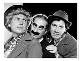 Poster Les Marx Brothers
