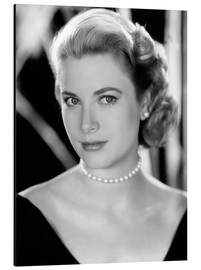 Tableau en aluminium  Grace Kelly, 1953