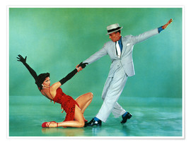 Poster  THE BAND WAGON, Cyd Charisse, Fred Astaire, 1953