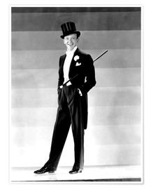 Poster  Fred Astaire, 1930