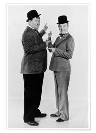 Poster  Oliver Hardy and Stan Laurel