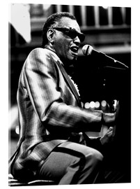 Verre acrylique  Ray Charles
