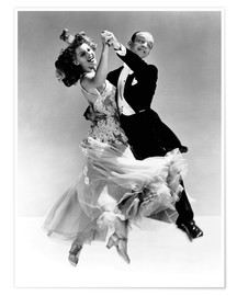 Poster  Rita Hayworth et Fred Astaire
