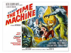 Poster  La Machine à explorer le temps (anglais)