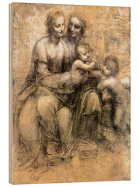 Bois  The Virgin and Child with Saint Anne - Leonardo da Vinci