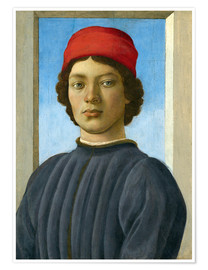 Poster Portrait of a Youth