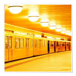 Poster  Berlin subway - bildpics