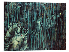 Tableau en PVC  Those Who Stay - Umberto Boccioni