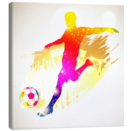 Toile  Soccer Player - TAlex