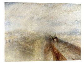 Verre acrylique  Rain, Steam and Speed - Joseph Mallord William Turner