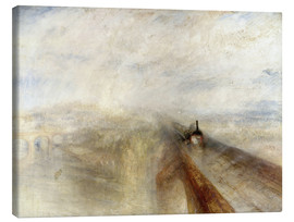 Toile  Rain, Steam and Speed - Joseph Mallord William Turner