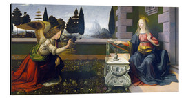 Alu-Dibond  The Annunciation - Leonardo da Vinci